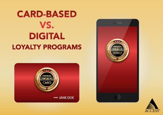 Card vs Digital Loyalty Programs