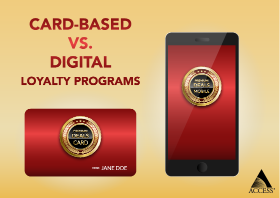 Card vs Digital Loyalty Programs