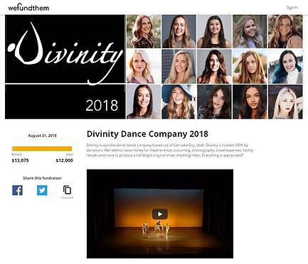 Divinity Dance Site