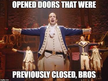 Hamilton meme comma