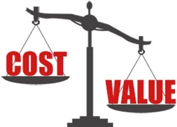 cost value