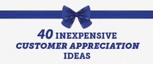 inexpensive customer appreciation